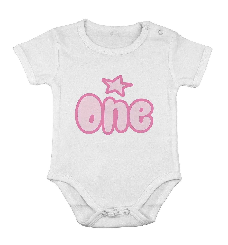 Mi primer cumpleaños UNO niña recién nacida regalo body de ...