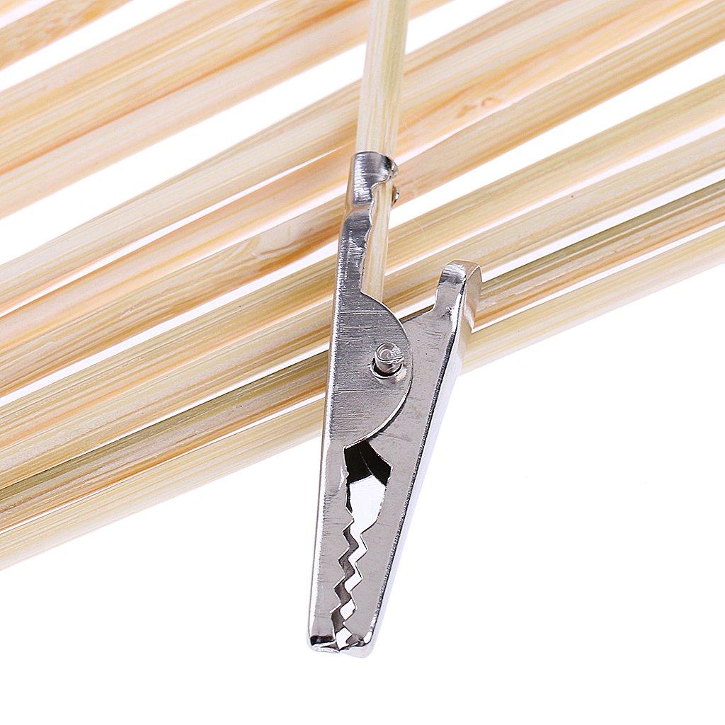 Clip De Memo De Soporte De Foto De Soporte Hellery Abrazadera De Cocodrilo De Alambre De Metal 20x con Base Cola Larga