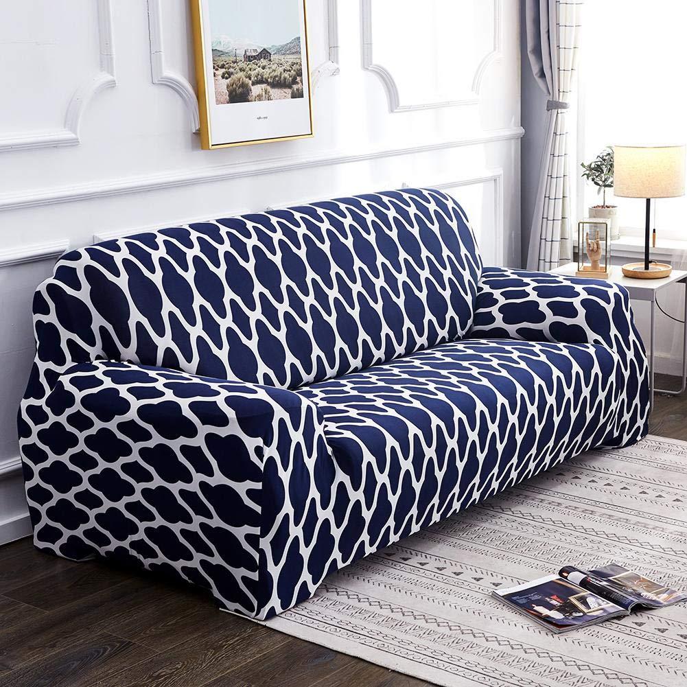 Ecotrump Sofa /Überw/ürfe Sofabezug Elastischer Sofabezug Geometrischer Musterdruck Atmungsaktive Enge Couch Wrap Dehnbare d/ünne /Überz/üge All-Inclusive-Sofa-Abdeckung 1 Sitz elastische