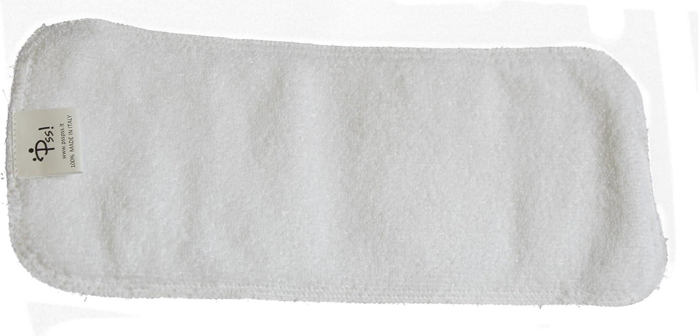 Hecho en Italia Kit de accesorios con absorbentes de algod/ón PSS POCKET Pa/ñales lavables ecol/ógicos
