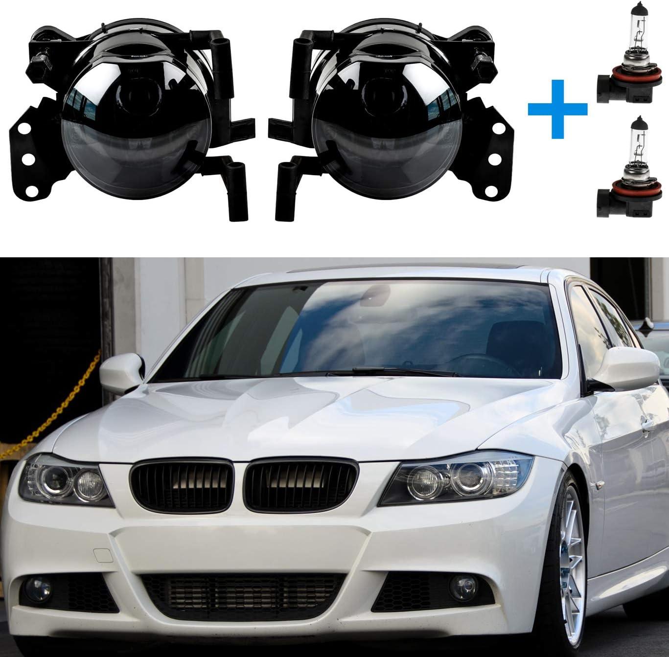 Smoke Schwarz Nebelscheinwerfer Für E90 E91 E46 E60 E61 E63 E64 Auto