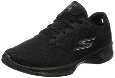Skechers Performance Women's Go 4-14146W Walking Shoe, Black, ...