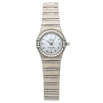 68ce61ceadd Image Unavailable. Image not available for. Color  Omega Constellation  Quartz (Battery) Mother of Pearl Dial Womens Watch ...