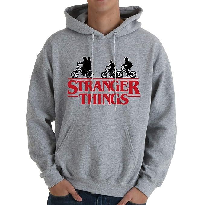 Desconocido Stranger Things Bikes - Sudadera con Capucha: Amazon.es: Ropa y accesorios