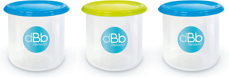 dBb-Remond 209549 - Lote de 3 recipientes para congelación (300 ml ...