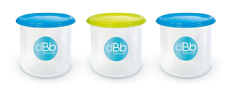 dBb-Remond 209549 Set mit 3 Aufbewahrungsbehältern zum Einfrieren 300 ml