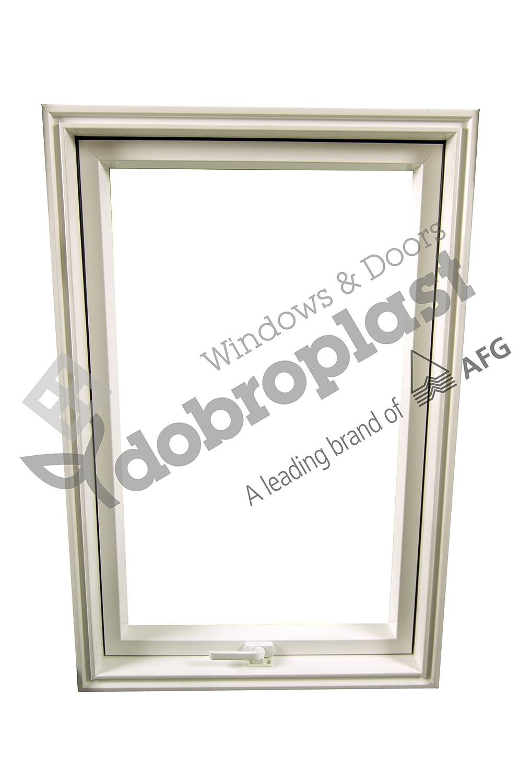 AFG Skylight Kunststoff Dachfenster PVC 78 x 98 mit Eindeckrahmen Schwingfenster Dachfl/ächenfenster