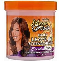 Mega Growth Break Free Daily Leave-In Strengthener - Restore & Repair Damaged Hair, Stops Chemical Damage, Moisturizes…