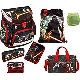 Star Wars Schulranzen Set 7tlg. Scooli Campus Up mit Sporttasche SWHZ8252-GR
