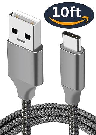 Amazon.com: Cable cargador, cable de, extra largo, carga ...