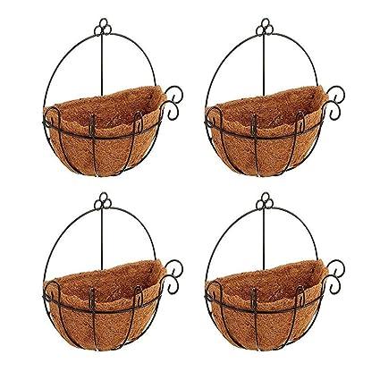 rescozy Round Replacement Coco Fiber Basket Liner 12-Inch