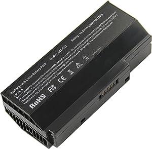 Futurebatt 5200mAh 14.8V Battery Laptop Battery Replacement for Asus G53 G53J G53JH G53JQ G53JW G53JX G53S G53SV G53SW G53SX G73 G73G G73GW G73J G73JH G73JH-BST7 G73JH-BST7 G73JQ VX7 A42-G73 G73-52