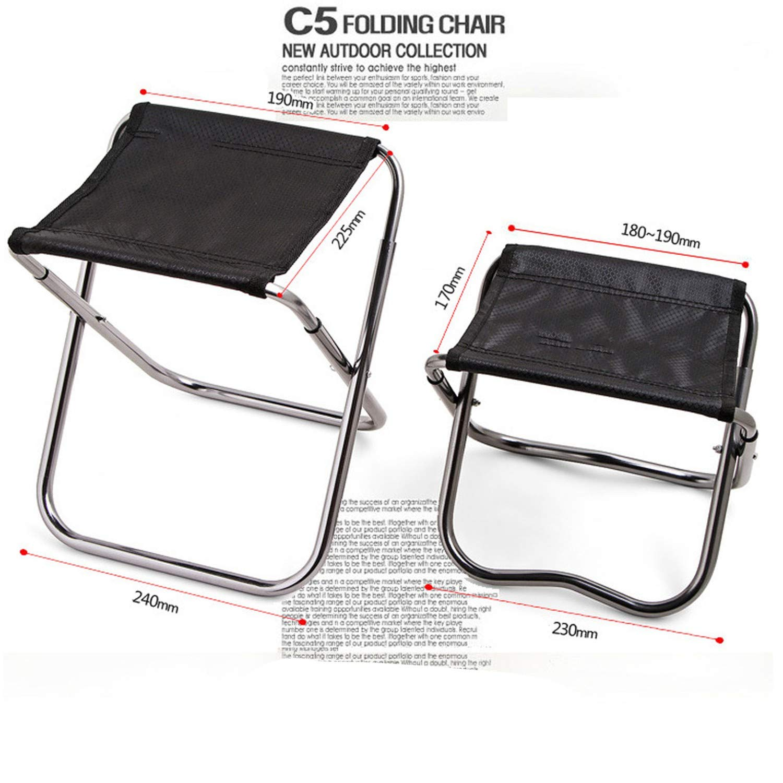 Amazon.com : Camping Fishing Chair Children Mini C4 Folding ...