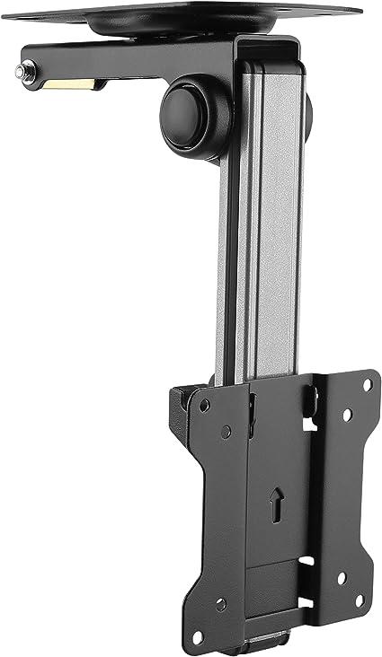 RICOO TV Deckenhalterung für Fernseher D0111 für ca. 13-33 Zoll (33-84cm)  Klappbar Decken Halter Universal auch für Curved LCD und LED Bildschirme &  ...