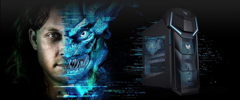 Acer Predator Orion 5000 Intel 6-Core i7-8700K 3.7GHz/Nvidia GeForce RTX 2080 8GB GDDR6 Graphics/2TB 7200RPM + 1TB Solid State Drive/64GB DDR4 SDRAM/Windows 10 Gaming Desktop