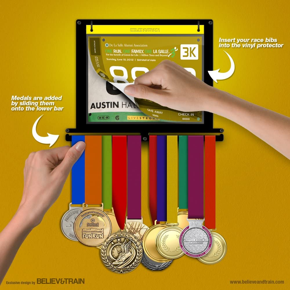 Friday Fitness: Race Medal Hanger | Medaillen aufhängung