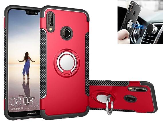 Amazon.com: Huawei P20 Lite Funda de silicona a prueba de ...