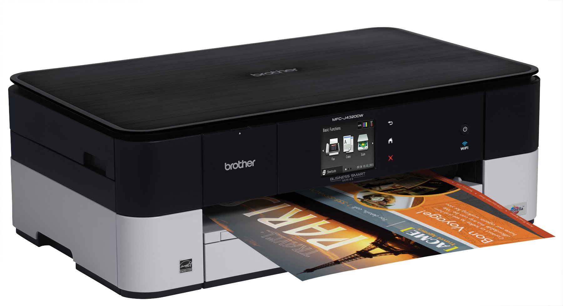 Brother Printer MFCJ4320DW Wireless Color Photo Printer with Scanner, Copier and Fax, Amazon Dash Replenishment Enabled by Brother (Image #5)
