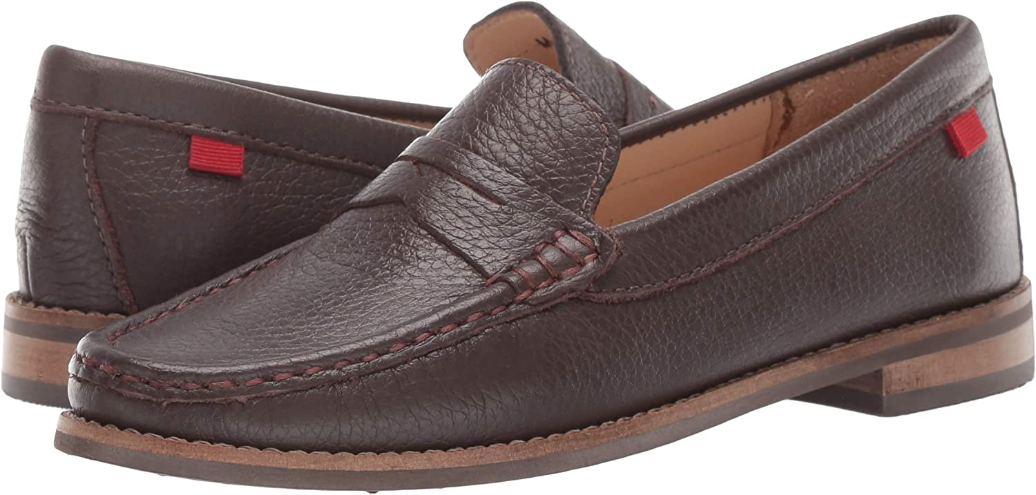 MARC JOSEPH NEW YORK Kids Leather Boys//Girls Casual Comfort Slip on Moccasin Penny Loafer Driving Style
