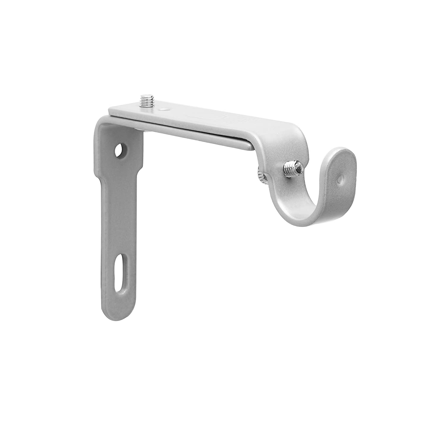 Amazon.com: Umbra Adjustable Bracket For Drapery Rod, Set Of 2, Nickel:  Home U0026 Kitchen