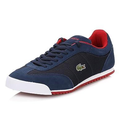c36c9d745584e Lacoste Mens Navy Romeau Trainers  Amazon.co.uk  Shoes   Bags