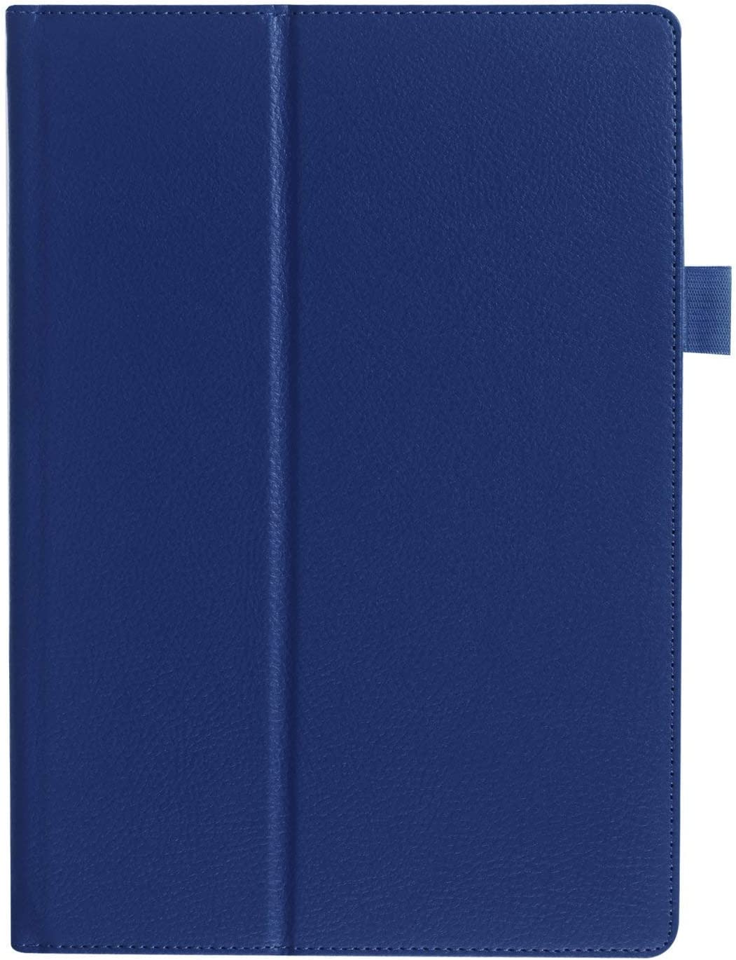 Asng ASUS MeMO Pad Smart ME301T Case - Slim Folding Cover with Auto Wake/Sleep for ASUS MeMO Pad Smart ME301T 10.1 Inch Tablet (Drak Blue)