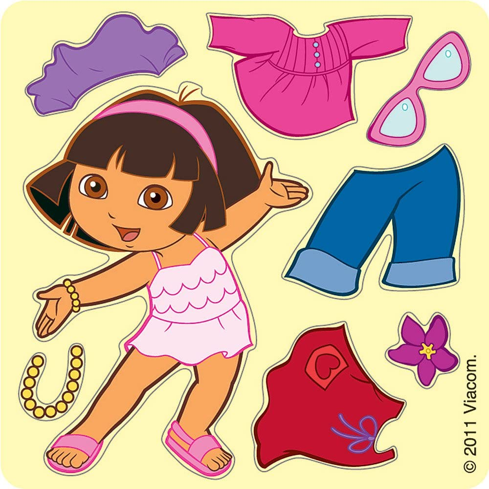 SmileMakers Make Your Own Dora The Explorer Stickers 100 Per Pack
