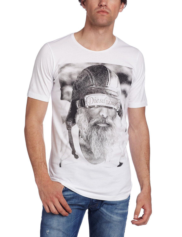 Diesel T-Shave-Rs Men's Crew Neck Shirt