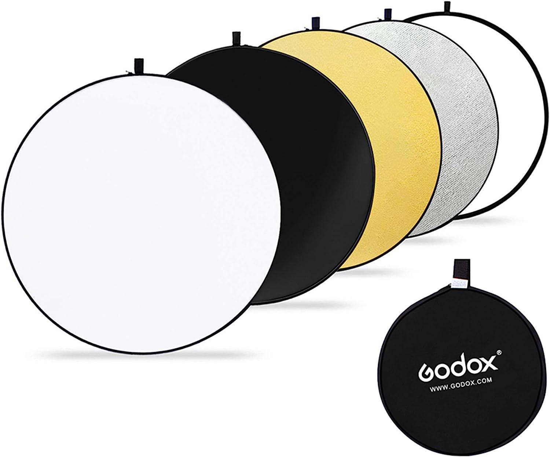 Godox 110cm Rund Reflektor Tragbarer Multi Disk Kamera