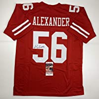 $104 » Autographed/Signed Kwon Alexander San Francisco Red Football Jersey JSA COA