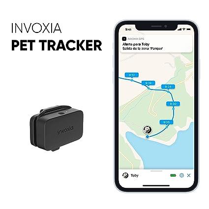 Pet Tracker - Localizador GPS para perros y gatos - Suscripción incluida - Larga autonomía -