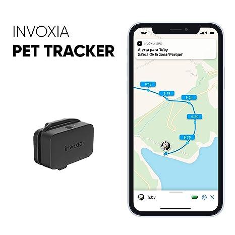 Pet Tracker - Localizador GPS para perros y gatos - Suscripción incluida - Larga autonomía - Ligero y pequeño