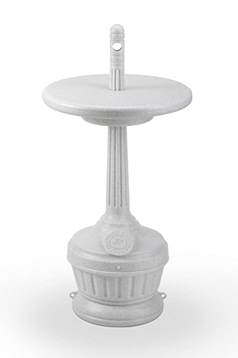 Outdoor Ashtray Windproof And Rainproof Petit Patio With Table