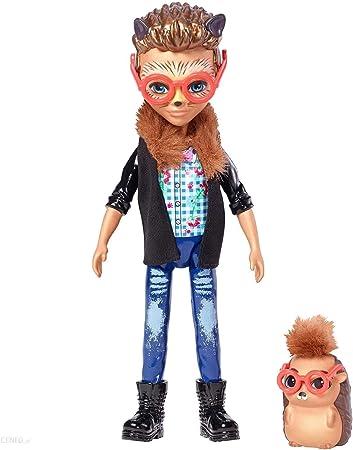 comprar Enchantimals Muñeco con mascota Hixby Hedgehog (Mattel FJJ22)