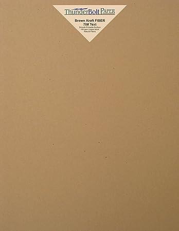 Amazon 50 brown kraft fiber 2870 text not cardcover 50 brown kraft fiber 2870 text not cardcover paper reheart Images