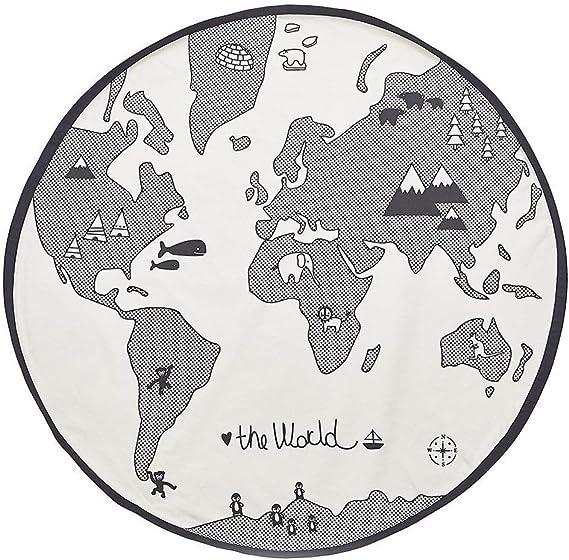 Manta de Juego para Bebé Alfombrillas for gatear, diseño de mapas del mundo Alfombrilla for niños Alfombrilla for niños Alfombrilla for juegos Alfombrillas for niños Alfombrillas for bebés Alfombrilla: Amazon.es: Juguetes y