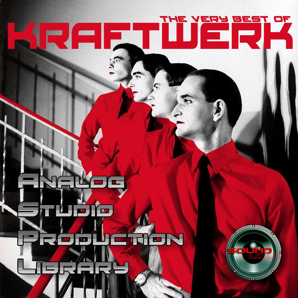 KRAFTWERK HUGE UNIQUE Original Analog Multi-Layer Studio Samples Library on DVD or for download by SoundLoad (Image #1)