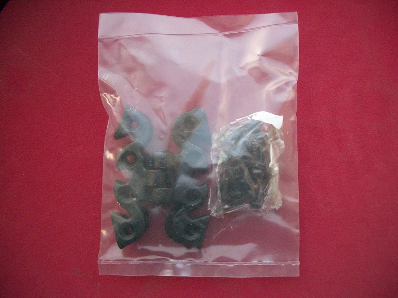 2 X Schwarz Schmetterling Schrank Scharniere 50 X 68mm