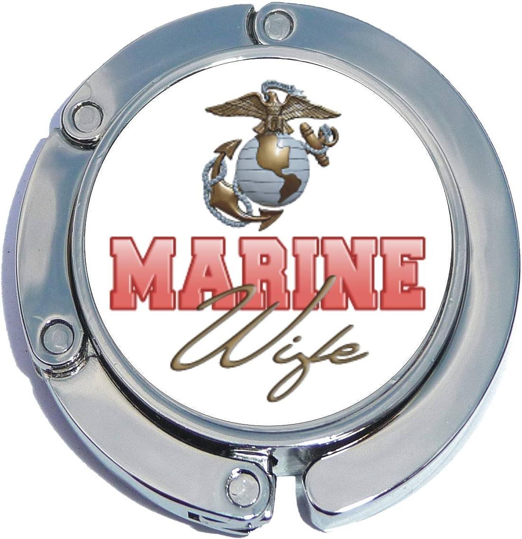 Marine Wife Foldable Purse Hanger