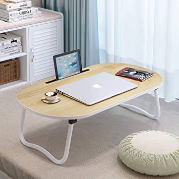 P Collapsible Desk Writing Table Computer Desk Small Table for Bed College Students