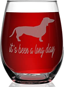Shop4Ever It's Been A Long Day Laser Engraved Stemless Wine Glass