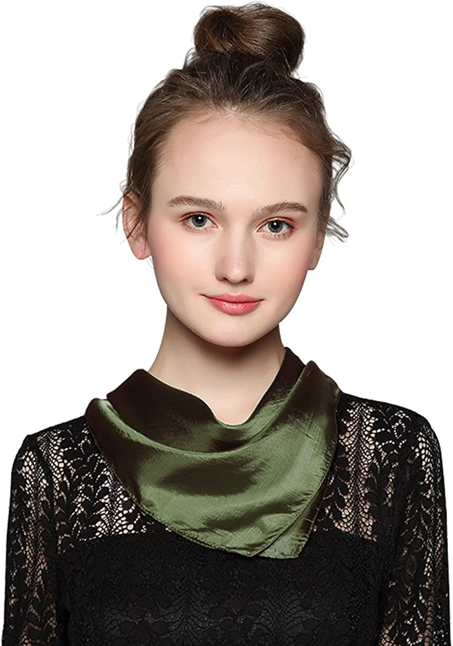 Thin Sheer Coloured Square Fashion Scarf Head Wrap 100/% Polyester Accessories