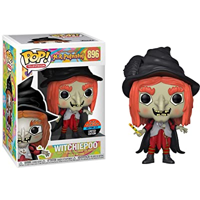 Witchiepoo (Toy Tokyo NY 2020 Exc): Fun ko Pop! TV Vinyl Figure & 1 Compatible Graphic Protector Bundle (896 - 41168 - B): Toys & Games