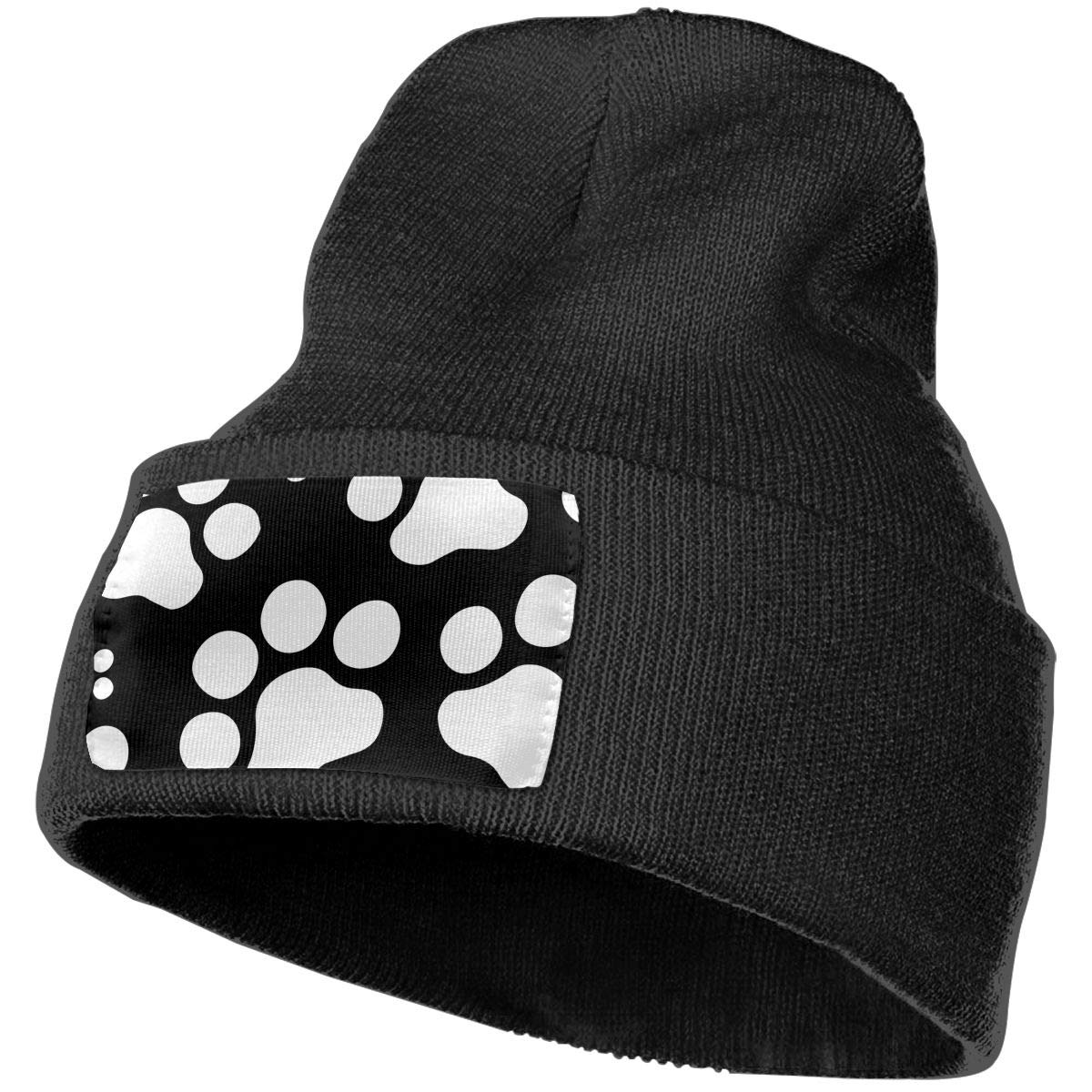 Horizon-t Paw Prints Unisex 100/% Acrylic Knitting Hat Cap Fashion Beanie Hat
