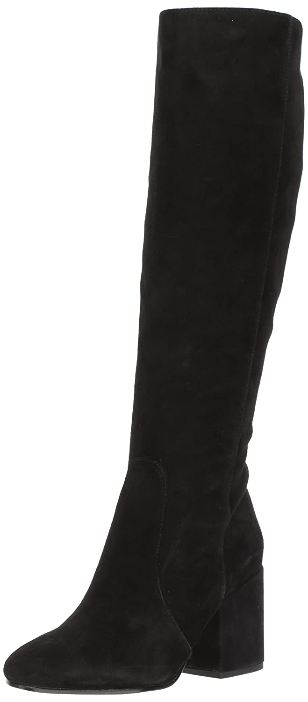 Sam Edelman Women's Thora Knee High Boot B06XJMPFF8 10.5 B(M) US|Black Suede
