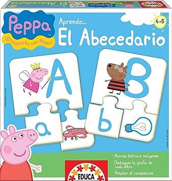 Comprar Educa Borras Puzzle Aprendo El Abecedario Peppa Pig (15652) , color/modelo surtido