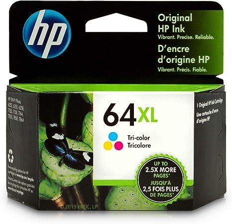 Amazon.com: HP 64XL | Cartucho de tinta | Tri-Color ...