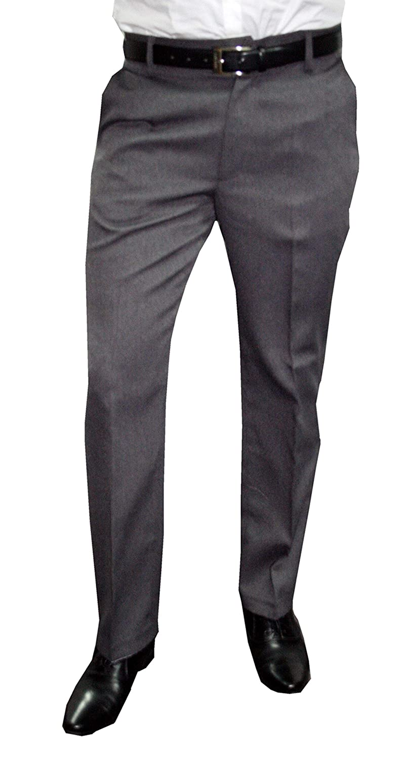 Mens suit pants trousers with pleats different colors in stocky sizes