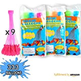 Water Balloons by UNI-Novelty, Fill in 60 Seconds, 333 pcs Water Balloons