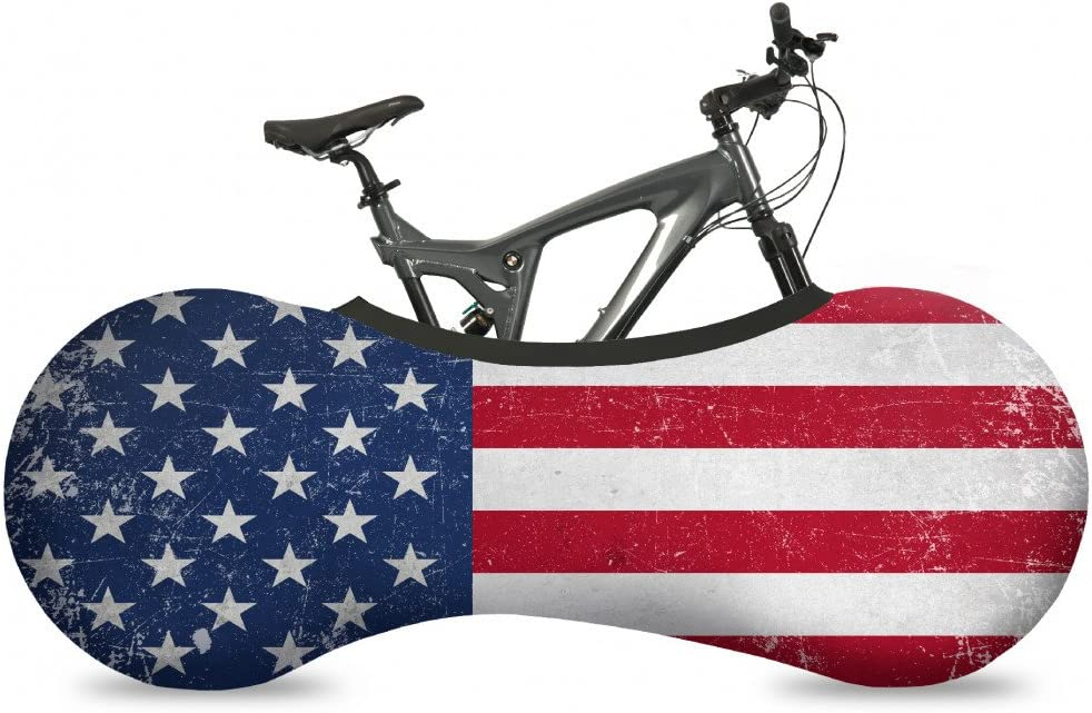Velo Sock Bicycle Indoor Cover for Storage and Transportation, Stretchy Dirt Proof Fabric, Bike Travel Protection Cover